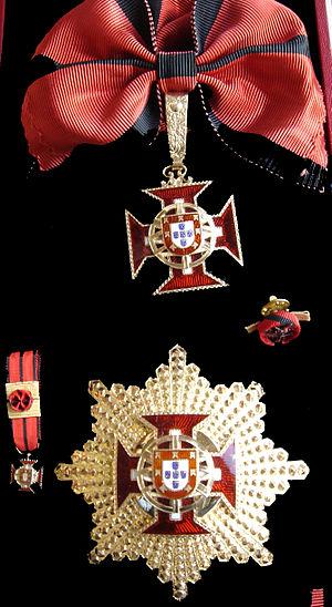Order of the Colonial Empire - Image: Grã Cruz Império Colonial fond noir