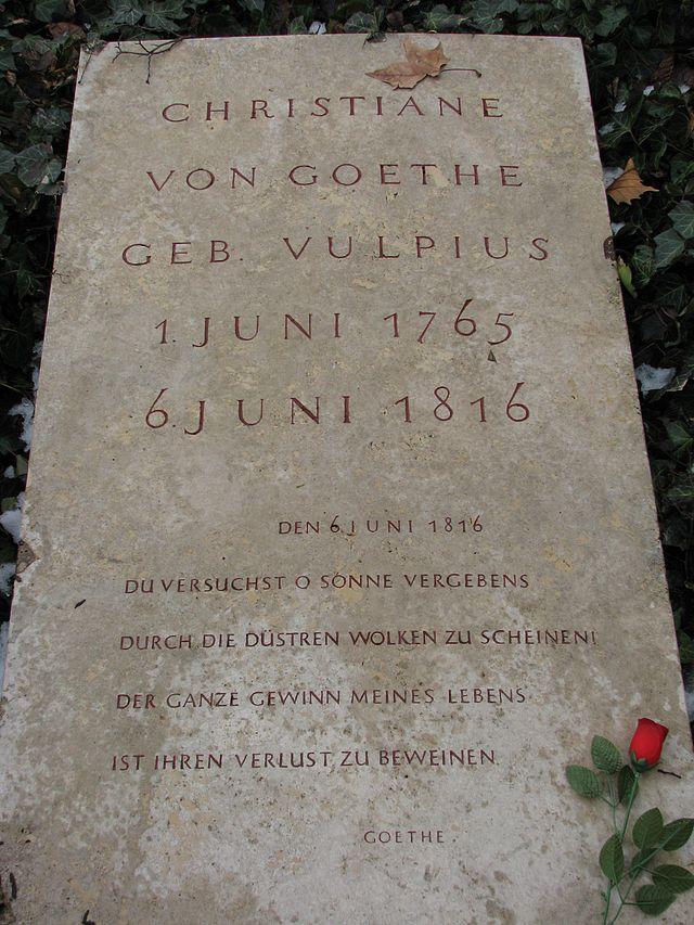 Christiane Von Goethe Wikiwand