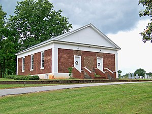 Grace Union Church and Cemetery - Image: Grace Union Church and Cemetery