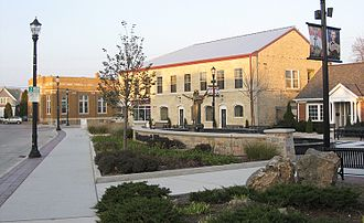 Grafton, Wisconsin - Downtown Grafton, at the Paramount Plaza