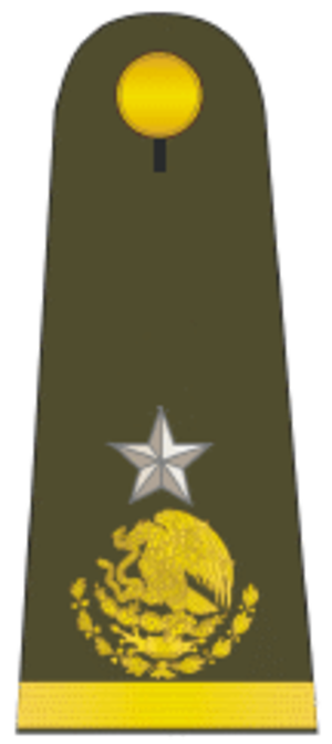 Army ranks and insignia of Mexico - Image: Gral brigadier