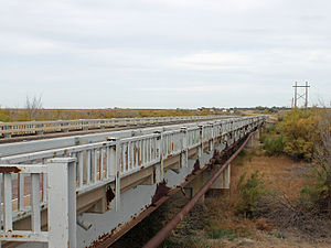 National Register of Historic Places listings in Prowers County, Colorado - Image: Granada Bridge (Prowers County, Colorado)