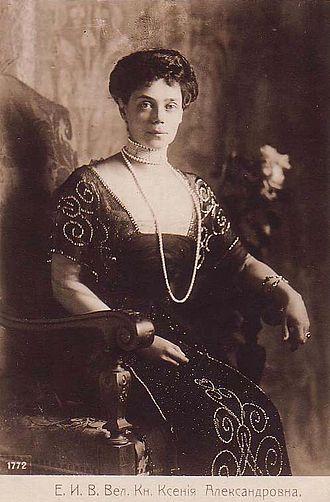 Grand Duchess Xenia Alexandrovna of Russia - Image: Grand Duchess Xenia Alexandrovna