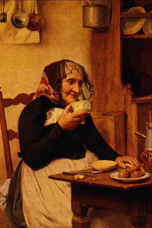 Grandmother - Albert Anker