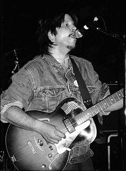 Grant Hart nel 2005 al the Metro Club di Londra.
