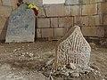 Grave marker in the prince's graveyard in Amedi, Kurdistan.jpg