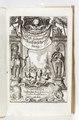 """Graverat titelblad på tyska till """"Västindindisk reseberättelse"""" från 1663 - Skoklosters slott - 93285.tif"""
