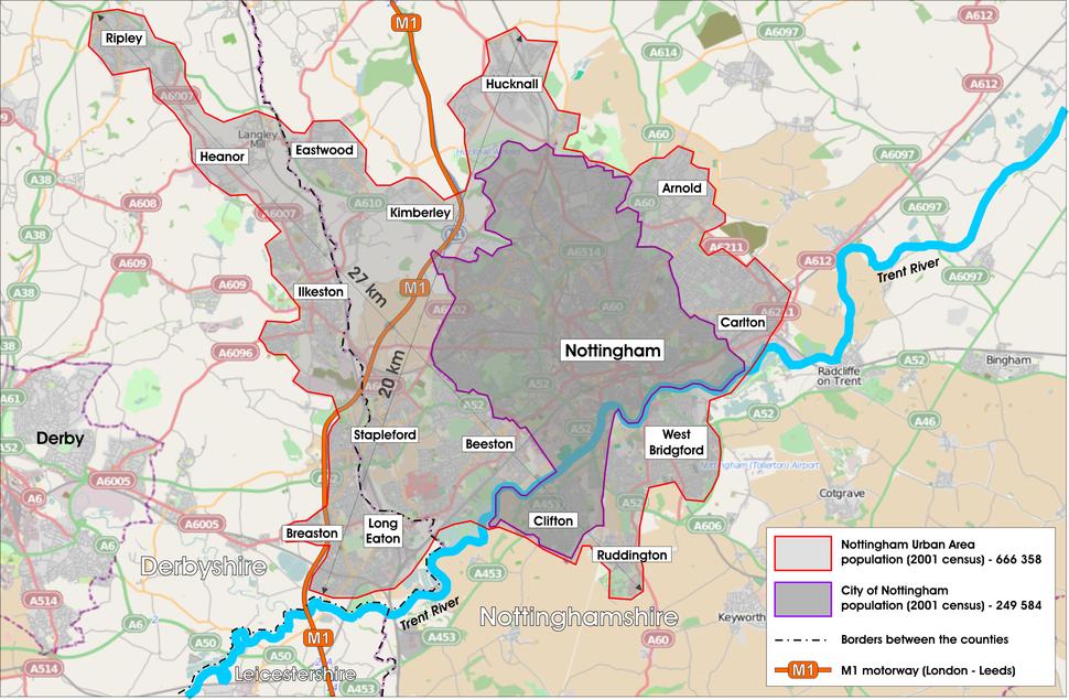 GreaterNottingham-map