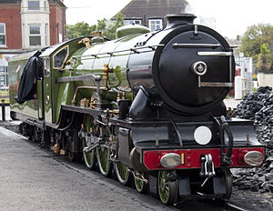 Romney, Hythe and Dymchurch Railway - Green Goddess