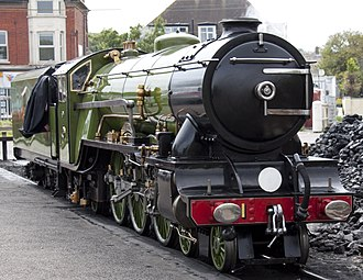 Romney, Hythe and Dymchurch Railway - Green Goddess