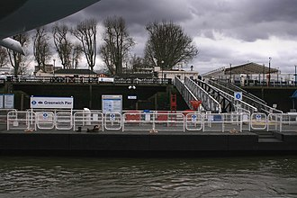 Greenwich Pier - Image: Greenwich pier 2