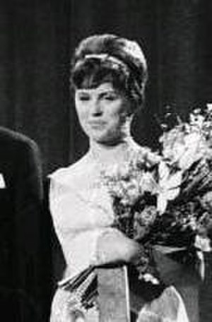 Grethe Ingmann - Grethe Ingmann at the Danish preselection for the Eurovision Song Contest 1963