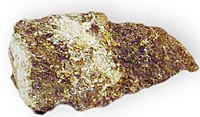Gruenerite Schist Metamorphic Rock North of Keystone, South Dakota 2916.jpg