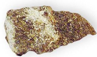 Grunerite amphibole, double chain inosilicate mineral
