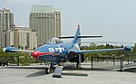Grumman F9F Panther, Midway Museum, San Diego, California.jpg