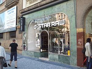 G-Star Raw - G-Star Raw store, Prague