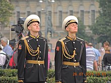 Guard of honor Day of the Navy - panoramio.jpg