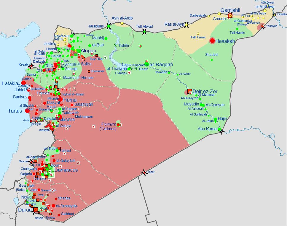 Guerre civile syrienne Mars 2013