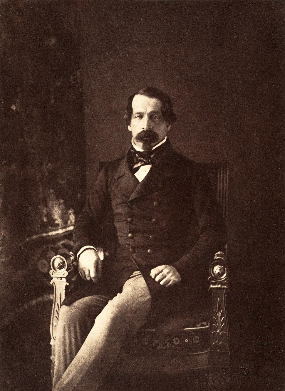Gustave Le Gray, Louis-Napoléon, Prince-President of the Republic, 1852
