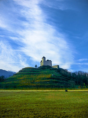 Liechtenstein - Gutenberg Castle, Balzers, Liechtenstein.