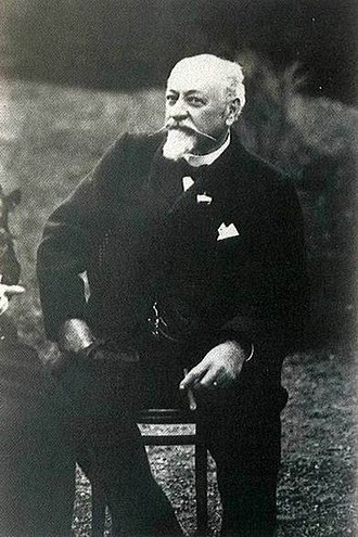 Antonio Guzmán Blanco - Guzman near the end of his life in 1895.