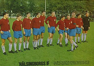 Helsingborgs IF - 1968 team photo of HIF