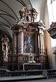 Höxter, Corvey, St. Stephanus und Vitus, Seitenaltar rechts.JPG
