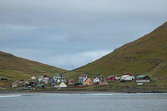 Húsavík, Faroe Islands - Húsavík, Faroe Islands.