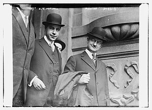 Martin Thomas Manton - H. T. Marshall and Martin Thomas Manton in 1915 at the Becker-Rosenthal trial in New York City