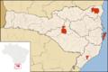 H1N1 Brazil SC Map.png