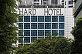 HARD HOTEL partial view of the text ORCHARD HOTEL written on the facade of the building in Orchard Road Singapore.jpg