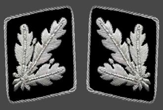 Brigadeführer - Gorget patches  1942-1945 (Allgemeine SS and Waffen-SS)