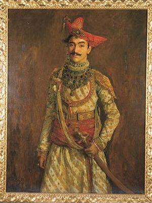 Dewas State - HH Maharaja Tukoji Rao III Puar of Dewas Sr