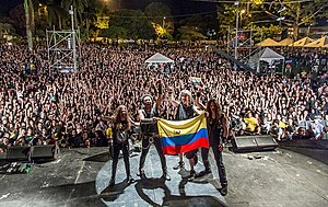 Hirax - HIRAX in Pereira, Colombia, July 20, 2013