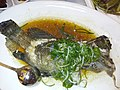 HK 上環 Sheung Wan 安泰街 On Tai Street shop 北園酒家 North Garden Restaurant food steamed seafood grouper May 2019 SSG 17.jpg