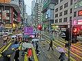 HK CityBus 97 tour view Wan Chai Johnston Road rain Crossway Apr-2013.JPG