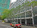 HK Mid-Levels Pokfulam Road St Paul's College trees April 2013.JPG