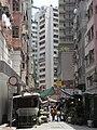 HK Wan Chai 灣仔 皇后大道東 Queen's Road East view 機利臣街 Gresson Street.jpg