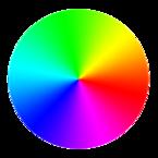 Círculo cromático CMY