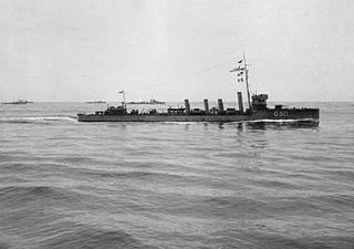 <i>Marksman</i>-class flotilla leader class of flotilla leaders built for the Royal Navy