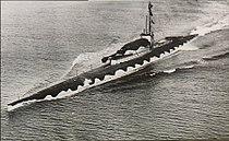 HMS M1 from air port bow.jpg