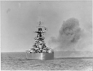 HMS Rodney in support of the Normandy landings.jpg