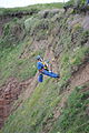 HM Coastguard cliff rescue of dog at Arbroath 3.jpg