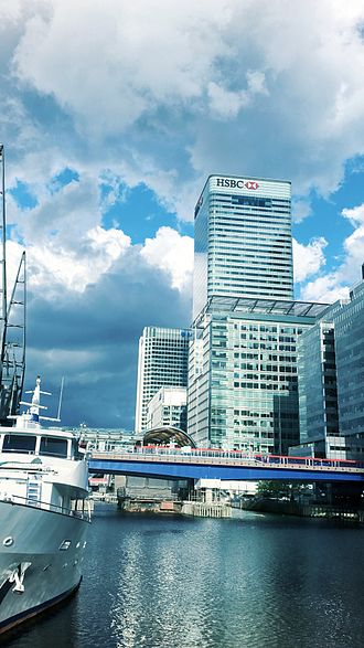 8 Canada Square - Area of the HSBC headquarters in Canary Wharf