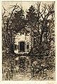 HUA-202711-Gezicht op de hermitage annex kapel een folly in het park van kasteel Drakenstein te Lage Vuursche gemeente Baarn NB Dit bouwwerk is in 1956 gesloopt.jpg