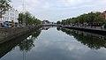Ha'penny Bridge, Crampton Quay & River Liffey, Dublin (507176) (32044939303).jpg