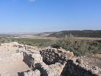 Khirbet Qeiyafa - Elah fortress walls