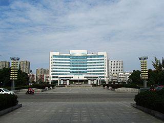 Hailing District District in Jiangsu, Peoples Republic of China