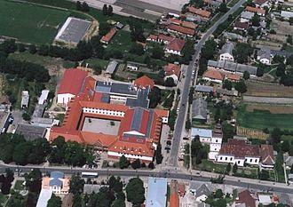 Hajdúsámson - Hajdúsámson from a bird's eye view