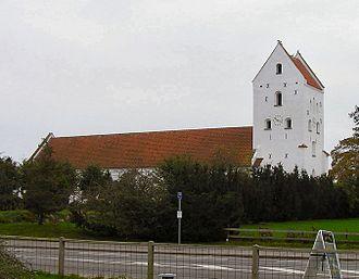 Hals Municipality - Hals Church